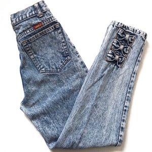 RARE VTG Jordache High Rise Ankle Jeans